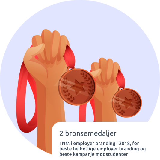 Pallplass i NM i employer branding
